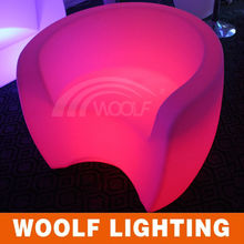 Popular Versatile Bedroom Hotel Restaurant Bar Leisure LED Sofa LED Light Sofa