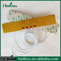 Polyester flexible low cost heating pad