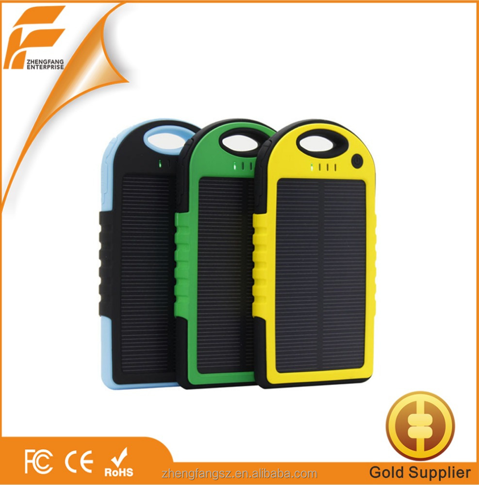 High quality factory price waterproof solar cell phone charger power ...