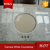 factory snow white flooring polished marble