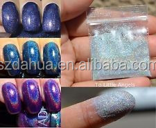Holographic Laser Silver Glitter Fine Powder for nail,tattoo art decoration