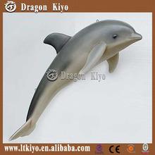 move simulation life size sea animals model of dolphin