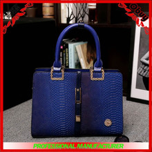 high quality cro-embossed textures calfskin tote bag