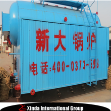 Xinda DZL 1ton horizontal automatic thermal boiler coal fired biomass boiler made in china