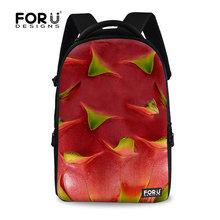 Toptan çocuk okul çantası, resmi ejderha meyve okul çantası