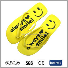New style china whole sale plain PE flip flops alibaba slipper
