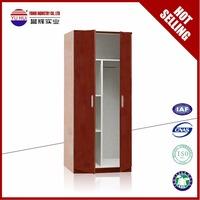 Durable cheap wardrobe 2 door steel wardrobe metal closet Armoire for college
