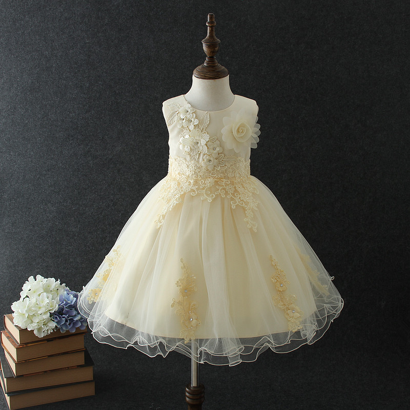 Best Selling Baby Girls Party Dress Design Childrens Princess