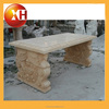 Natural garden used park benches for outdoor