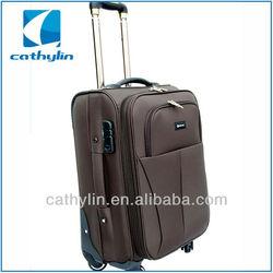 2014 New Model 100% EVA+PU Polo Trolley Luggage