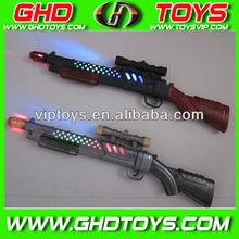 wholesale flashing sporting gun toy for kids