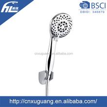 Shower faucets 0.1-0.5Mpa 2.5GPM/2.0GPM chrome finish bath shower set