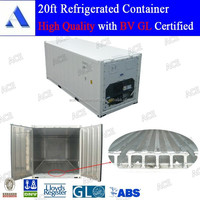 Cheaper price new 20ft freezer and refrigerator container for sale
