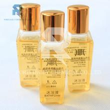 Natural fragrance plastic bottle bathroom disposable hotel shower gel