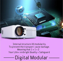 Native 1080p 3 lcd display video movie theater proyector full hd 3d led projector