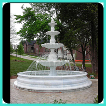 mabrle stone 4 tier water fountain