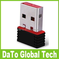Free DHL Shipping 1000pcs 7601 Chipset 150Mbps Wireless Nano 150M USB Wifi Adapter