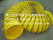 high temperuture resistant exhaust pipe use in mining , pvc material