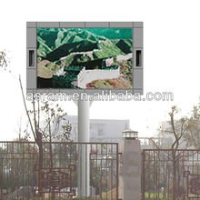 panel double sided LED screens basketball arena LED displayer screen display LED column LED board gym arena panel double face