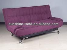 Comfortable Microfiber sofa comer bed design