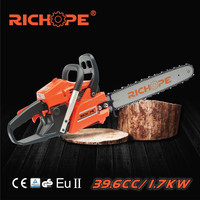 40cc chain saw for professional garden tool industrial tree cutting chainsaw
