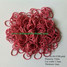 Good quality rubber band for hair diameter 13
