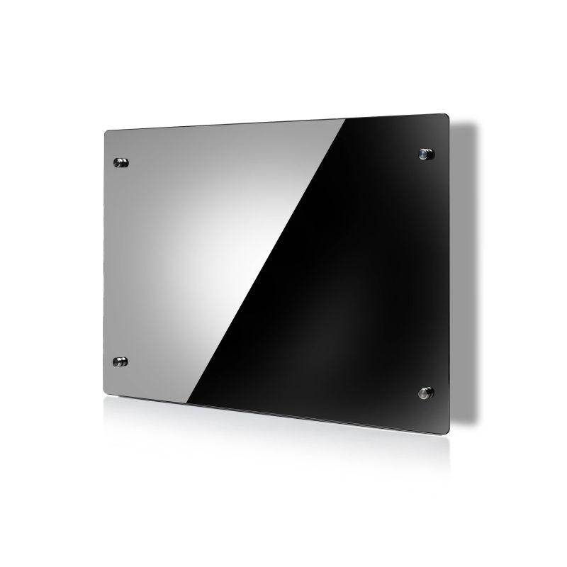 hot vente blanc noir panneau de verre d coratif radiateurs. Black Bedroom Furniture Sets. Home Design Ideas