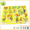Cheap Price Wooden Puzzle Toys Digital Track Educational Wooden Kid Toy