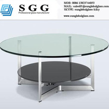 float glass,tempered glass high quality round glass table top