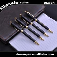 MOQ 1000Pcs Brand Black Business Customized Logo Promotional Ball Pen, Heavy Metal Pen