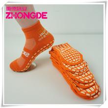Customized adult Cotton yoga pilates Socks non silp trampoline socks