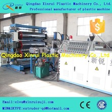 HDPE sheet production line manufacturing