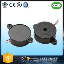 FBPB4216 higt quality 42mm wire piezo electronic buzzer 24V 100dB 42*16 2800Hz VDC door lock buzzer loud SPL (FBELE)
