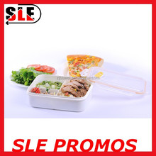 FDA Stocked Wholesale High Quality PP Plastic Freshness Food Containers With Lid,Custom Logo Microwave 3 Compartment Lunch Box