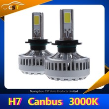 Accept Paypal !!! 2015 New Arrival A340 3000K Canbus LED Driving Lights Super Bright 3600LM Each Bulb 3000K LED Driving Lights