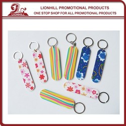 Hot Sales Fashionable Design Nail File Promotional Key Chain