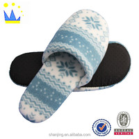 printing fabric flat sexy skidproof slipper