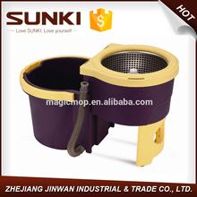 Cubo de la fregona con escurridor huracán barata 360 spin deluxe súper tambor de centrifugado 360 magia de spin JW-A23