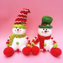 SD202 Hanging snowman and santa Christmas felt patterns decor
