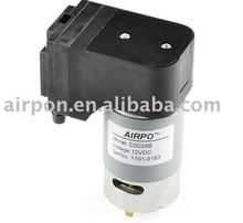 Mini diaphragm motor vacuum quiet air pump