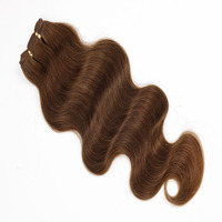 BSD Top sale hair weaving remy russian blonde hair extensions with best price