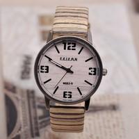 Vogue Men Leather Wristwatch, Fashion Wood Watch,High Quality Dress Table