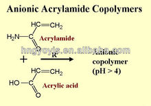 Reinforcing agents anionic polyacrylamide coagulant in paper industry