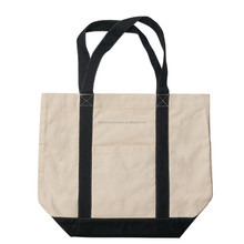 Promotional Heavy Cotton Canvas Tote Bag/the new green white bag