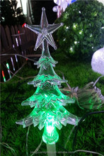 5L LED Christmas Tree and Star Crutch Ground Insert Light Decoration Light