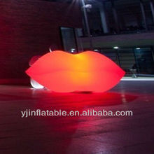 2013 new ideas inflatable red lip wedding decorations