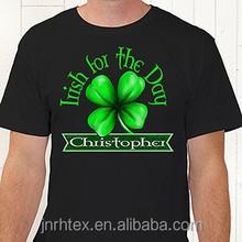 100% cotton tshirt printed photos,custom silk screen print tshirt for baseball