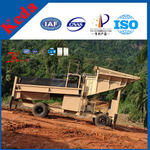 Portable Alluvial Gold Mining Guide/Mobile Gold Trommel Screen