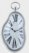 Hot Selling Promotional Fancy Design Melting Clock For Home Decor