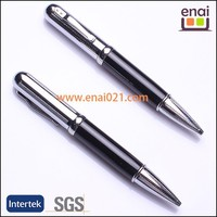 high class metal USB ball pen with twist action and 2G memory